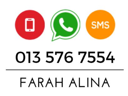 whatsapp untuk order shaklee